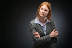 Confident Female Business Leader Stock Images