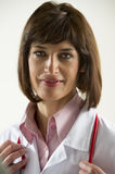 Confident Female Doctor Stock Photography