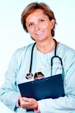 Confident female doctor Royalty Free Stock Images