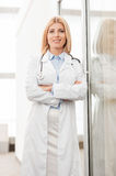 Confident female doctor Royalty Free Stock Photo