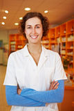 Confident female pharmacist Stock Photography