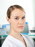 Confident Female Researcher Royalty Free Stock Image