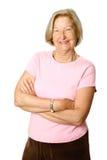 Confident female senior Stock Images