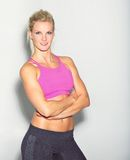 Confident Fitness Woman Royalty Free Stock Photo