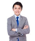 Confident and friendly business man portrait Stock Photo