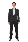 Confident full body Asian business man Stock Photo