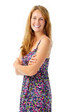 Confident ginger woman Royalty Free Stock Images