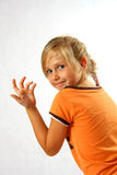 Confident girl Royalty Free Stock Photography