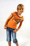 Confident girl royalty free stock images