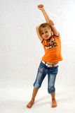 Confident girl stock images