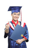Confident graduating student Royalty Free Stock Image