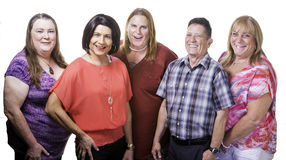 Confident Group of Transgender People Royalty Free Stock Photos