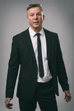 Confident handsome senior businessman Royalty Free Stock Images