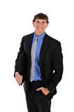 Confident Handsome Young Businessman Portrait Stock Images