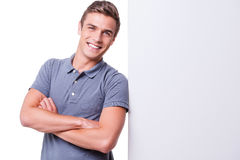 Confident handsome. Royalty Free Stock Image