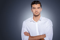 Confident handsome. Royalty Free Stock Photography