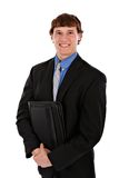Confident Handsome Young Salesman Standing Royalty Free Stock Photo