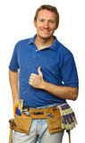 Confident handyman portrait Royalty Free Stock Photography