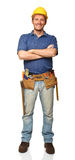 Confident handyman portrait Royalty Free Stock Photos
