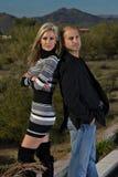 Confident Happy Couple Royalty Free Stock Photos