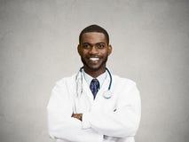 Confident, happy, smiling doctor Stock Photos