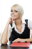 Confident happy young businesswoman Royalty Free Stock Images