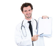 Confident healthcare professional Royalty Free Stock Photography