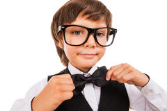 Confident in his skills. Stock Images