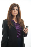 Confident hispanic businesswoman Stock Photography
