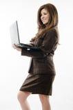 Confident hispanic businesswoman Stock Photos