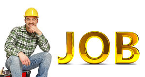 Confident job stock images