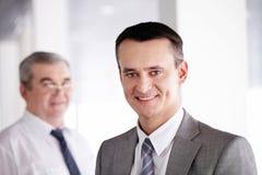 Confident leader Stock Image