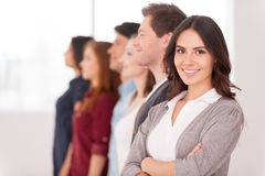 Confident leader. Royalty Free Stock Photography