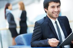 Confident leader Royalty Free Stock Photo
