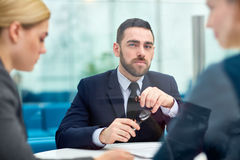 Confident leader Royalty Free Stock Photography
