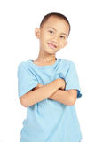Confident little boy Royalty Free Stock Image