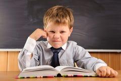 Confident little boy Stock Image
