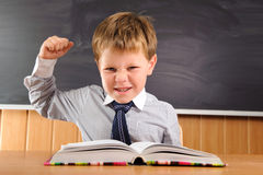 Confident little boy Stock Image