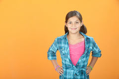 Confident Little Girl Stock Photos