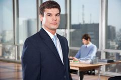 Confident Male Executive Royalty Free Stock Photo