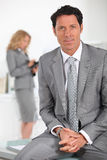 Confident male executive Stock Photography