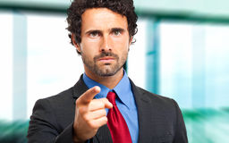 Confident male manager Royalty Free Stock Image