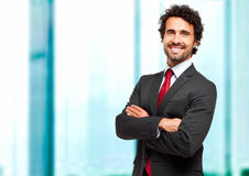 Confident male manager Royalty Free Stock Photography