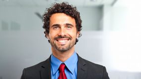 Confident male manager Royalty Free Stock Photo