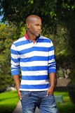 Confident male model Royalty Free Stock Images