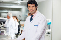 Confident Male Technician stock image