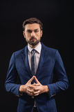 Confident man deals with business royalty free stock images