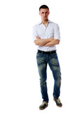 Confident man standing Royalty Free Stock Photography