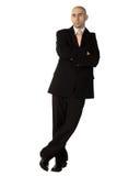 Confident man in suit Stock Image