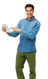 Confident Man Using Digital Tablet Stock Photos